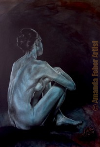 amanda_feher_painting_figurative_charcoal_Subtle_Grace