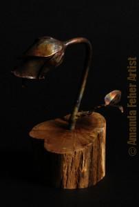 amanda_feher_sculpture_copper_rose_lamp