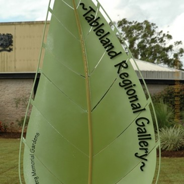 Tableland Regional Gallery Entry Sculpture