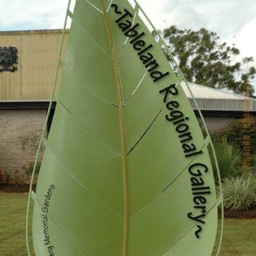 Tableland Regional Gallery Entry Sculpture