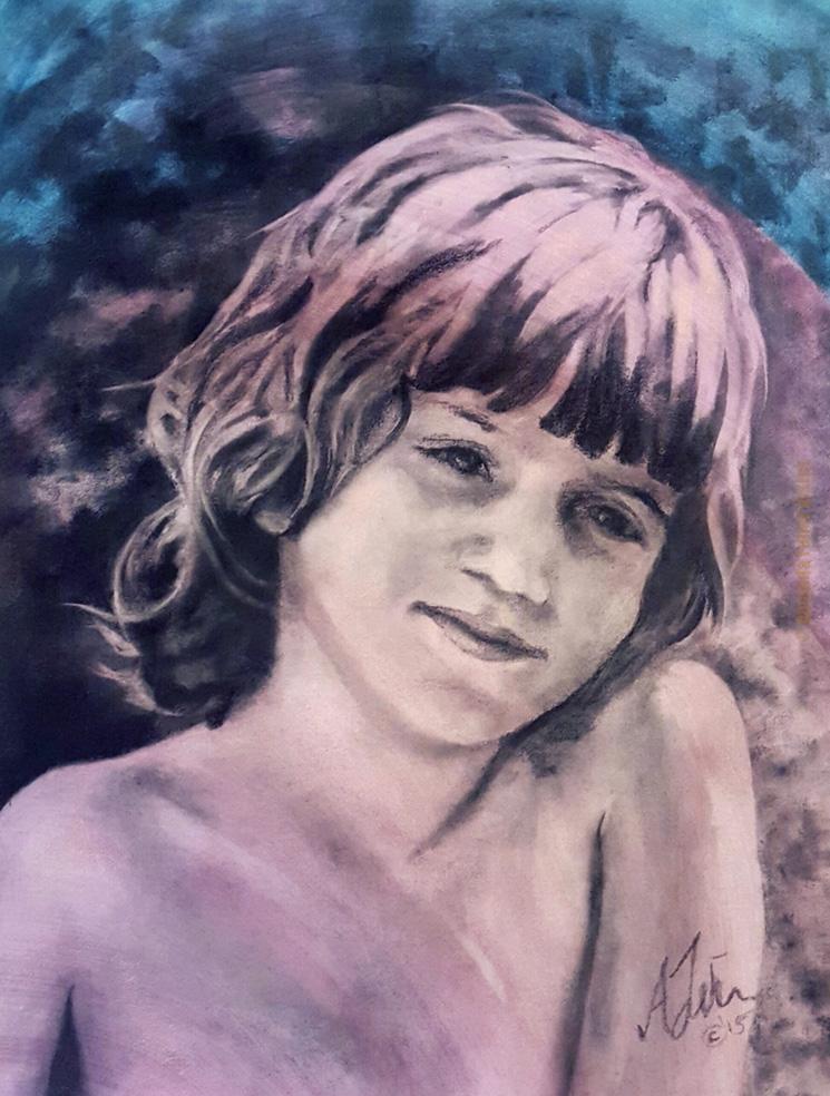 Portrait # 2- Claire