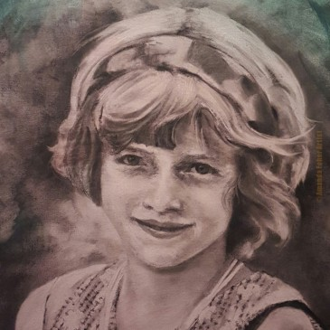 Portrait #3 – Paula